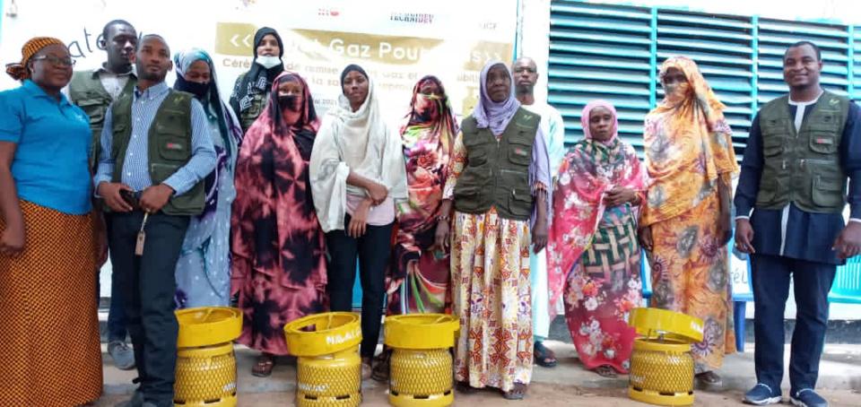 Tchad : 5000 bouteilles de gaz pour aider des femmes à faibles revenus