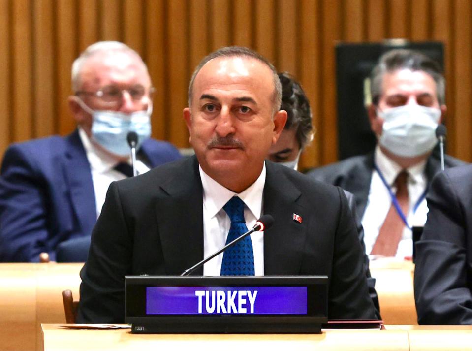 Mevlut Cavusoglu, ministre turc des Affaires étrangères. © DR