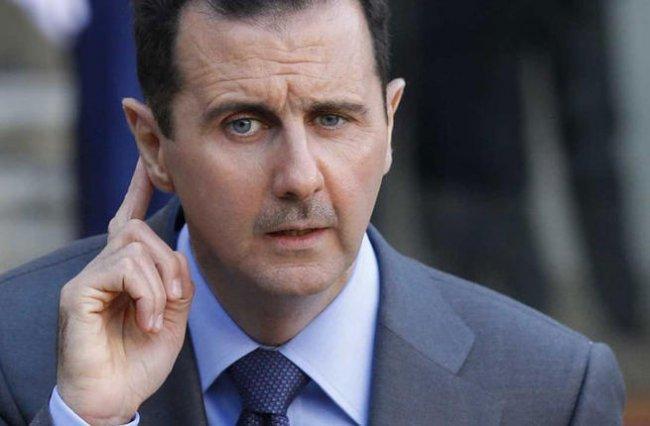 Le président syrien Bachar Al-Assad. © DR