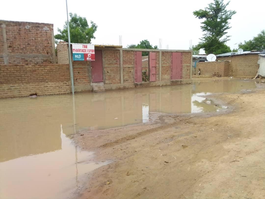 Tchad : la saison pluvieuse ôte le sommeil dans plusieurs ménages à N'Djamena