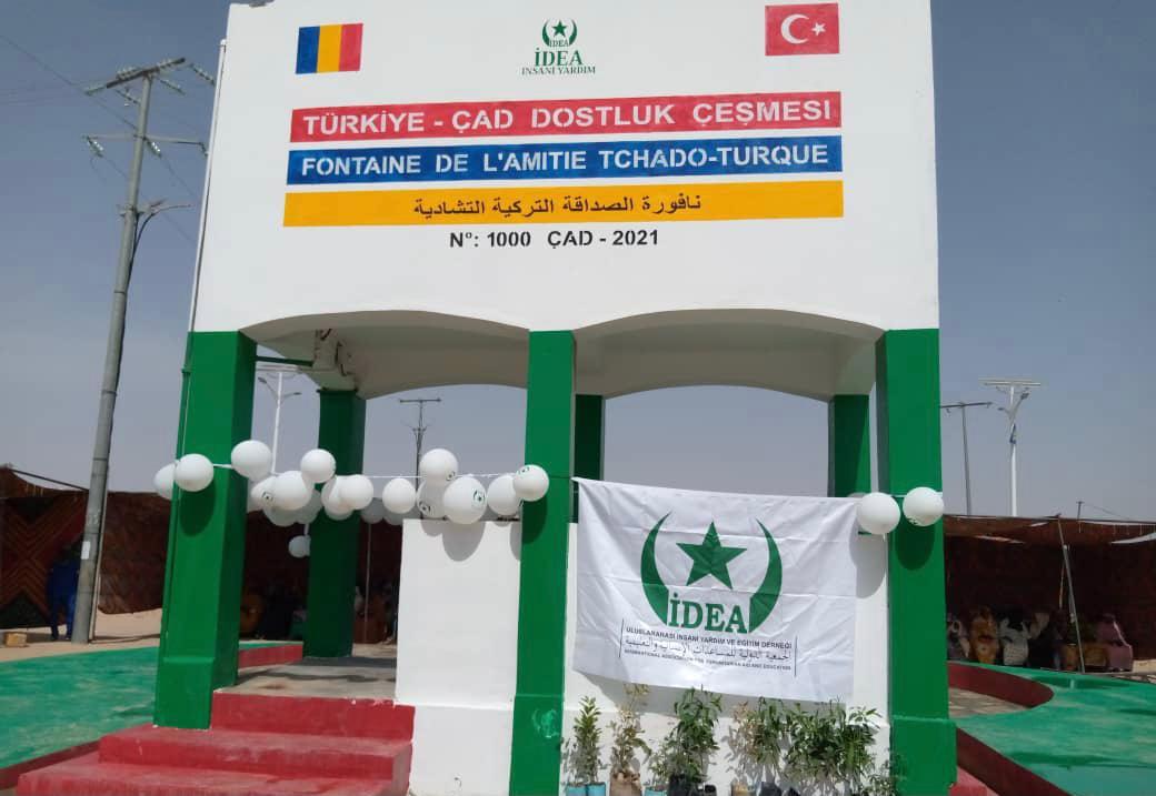 Tchad : inauguration ce 10 juin à Abéché de la fontaine de l'amitié tchado-turque