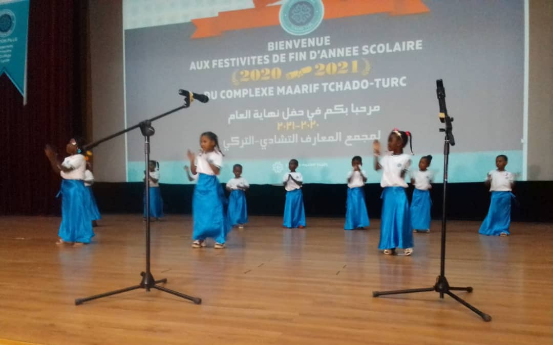 Tchad : des festivités marquent la fin de l'année scolaire au complexe Maarif tchado-turc