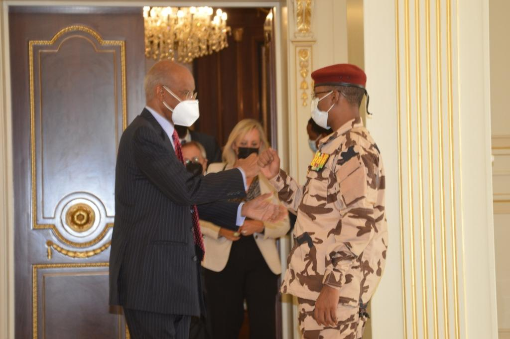 Tchad : une délégation de l'OIF reçue à la Présidence