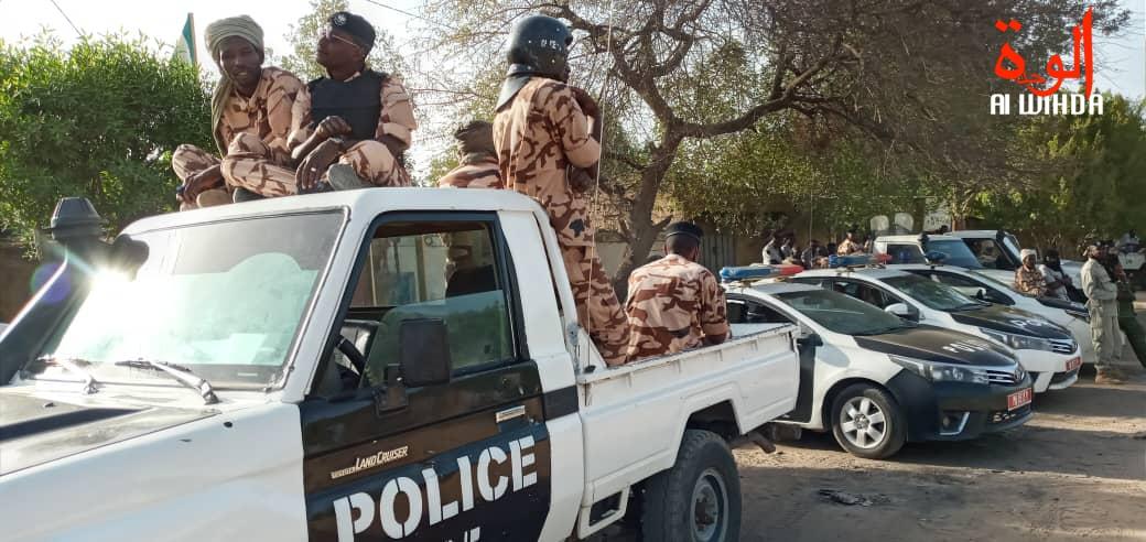 N'Djamena : la police arrête deux malfaiteurs après des échanges de tirs