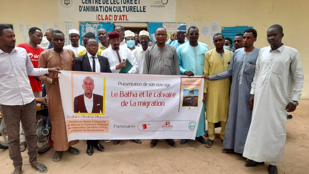 Tchad : dédicace de « Le Batha et le calvaire de la migration » de Brahim Abakar Moussa