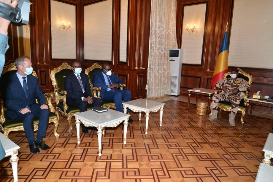 Tchad : une délégation du groupe Bolloré reçue à la Presidence
