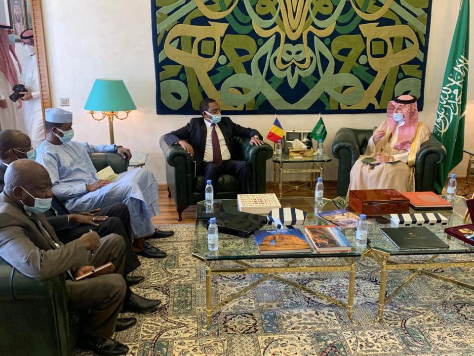 Une délégation du Tchad en Arabie saoudite.