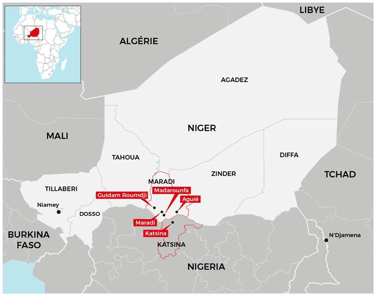 Crise nutritionnelle : MSF se prépare à un pic de grande ampleur au Niger et Nigeria. ©MSF