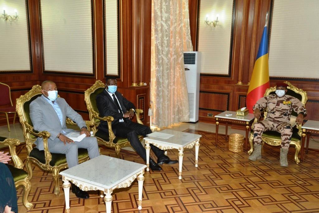 Tchad : le président du CMT a reçu un envoyé spécial sud-africain