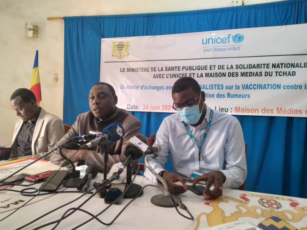 Tchad : lutter contre les rumeurs sur le vaccin anti-Covid, une préoccupation