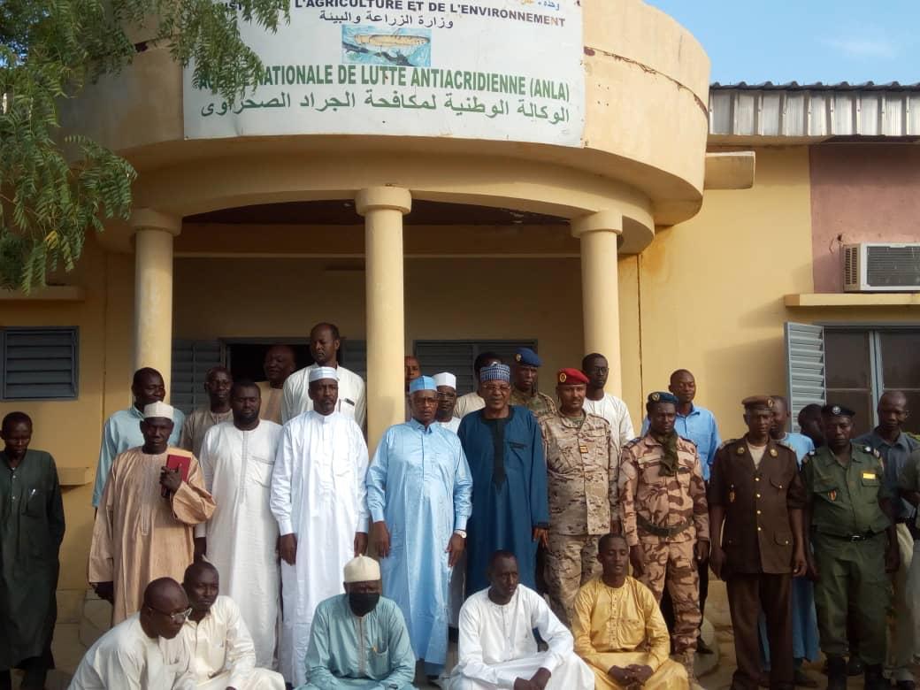 Tchad : les agents de la lutte anti-acridienne peaufinent leur formation