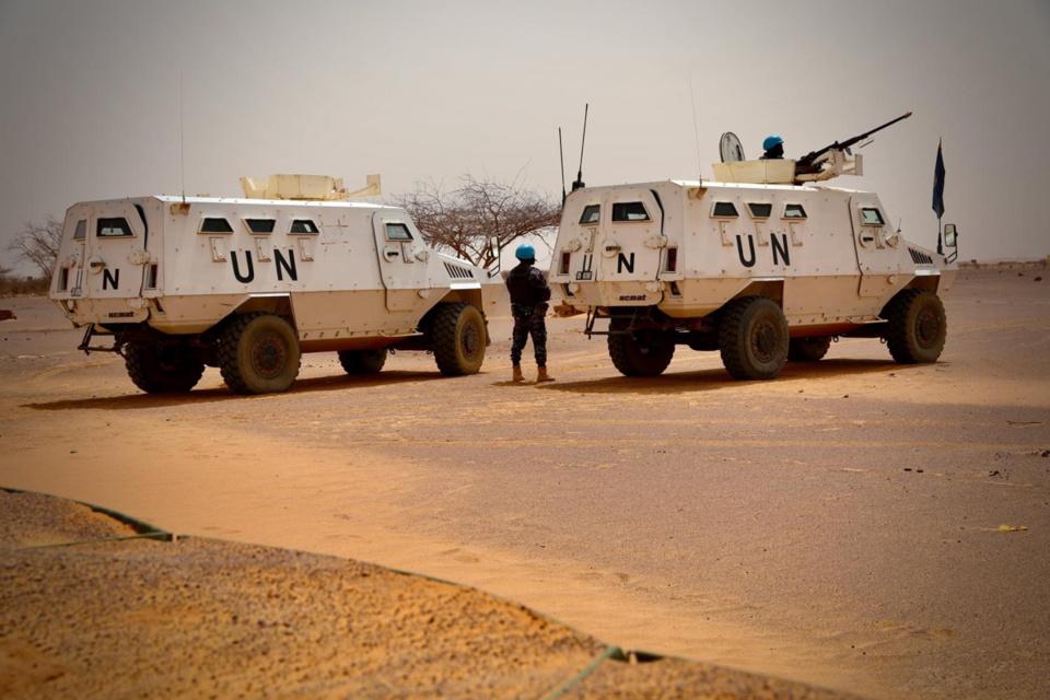 Mali : 15 casques bleus blessés dans l'attaque d'une base au véhicule suicide. © MINUSMA