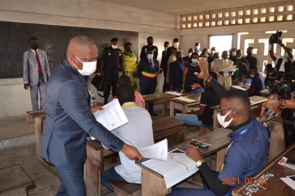 Congo-Baccalauréat : le ministre de l'Enseignement technique et professionnel invite les candidats à la sérénité et au travail