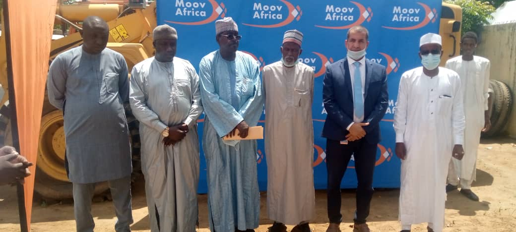 Tchad : la mairie de N'Djamena bénéficie d'un don d'équipements de MOOV AFRICA