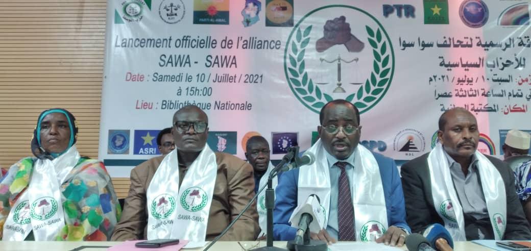 "Tchad : 24 partis politiques lancent l'alliance ""Sawa-Sawa"""