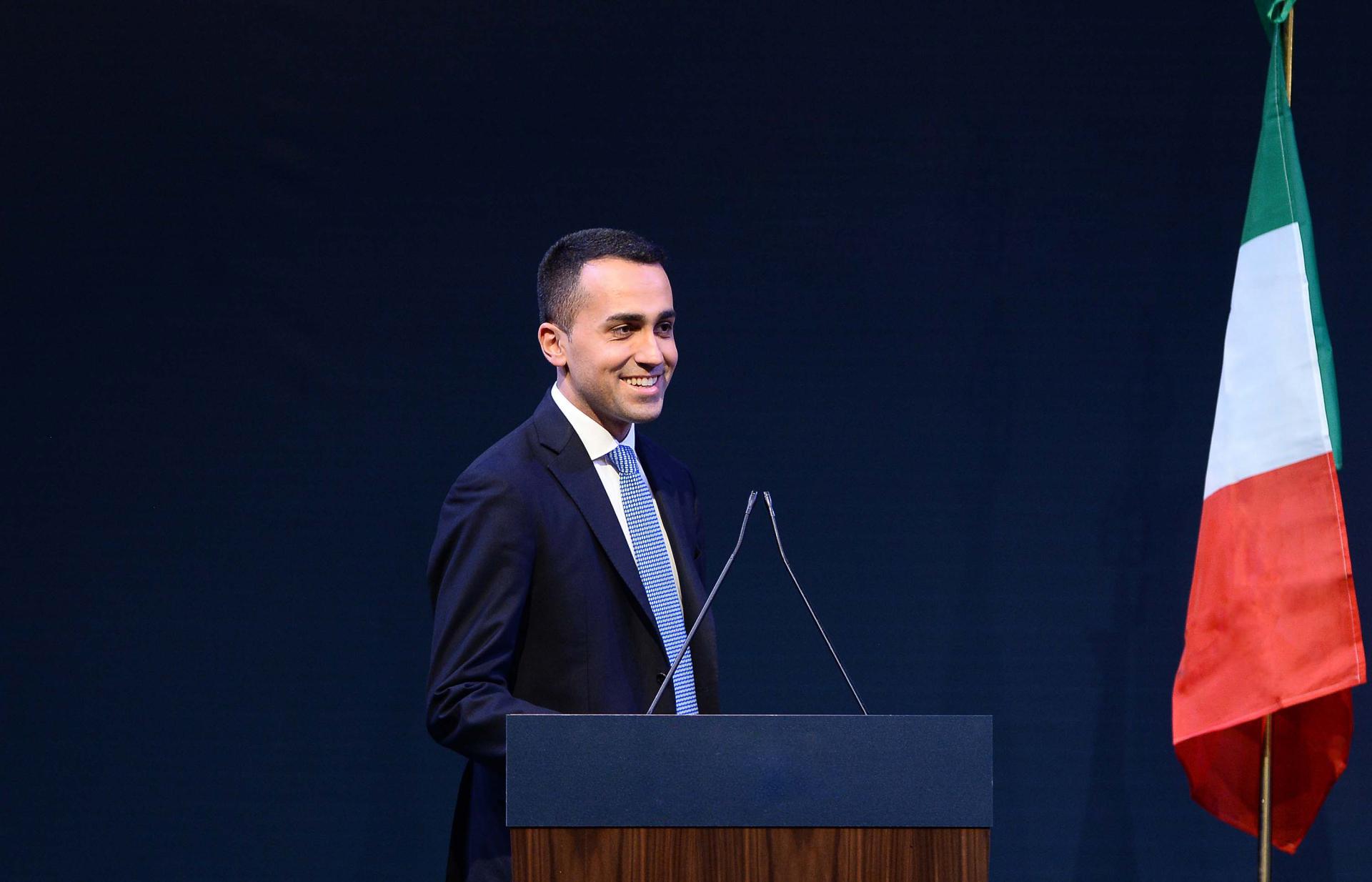 Luigi Di Maio, ministre Italien des Affaires étrangères et de la Coopération internationale. © DR