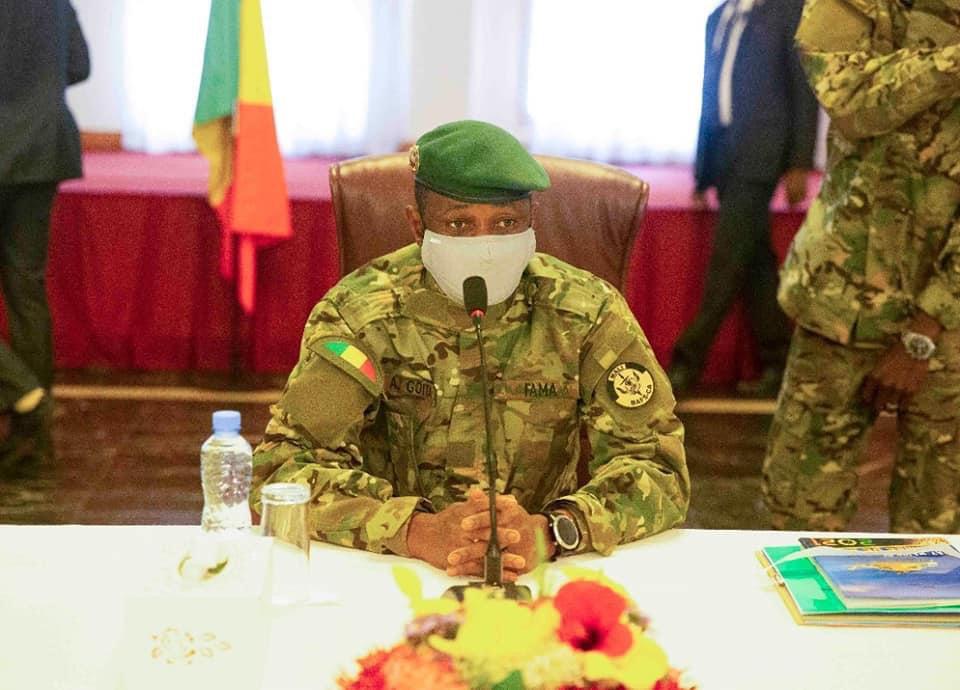 """Mali : """"Je vais très bien et aucun élément n'a été blessé"""" (Assimi Goïta)"""