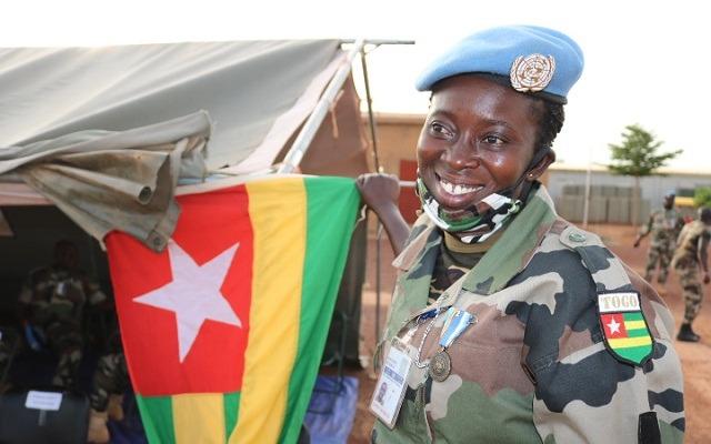 Togo : vers une augmentation de 10% du nombre de femmes dans l'armée