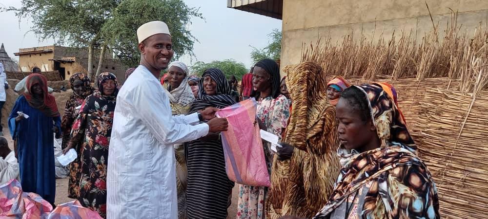 Tchad : distribution de viande aux vulnérables d'Abéché pour la Tabaski