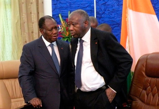 Côte d'Ivoire : une rencontre Ouattara-Gbagbo prévue le 27 juillet. Illustration © DR