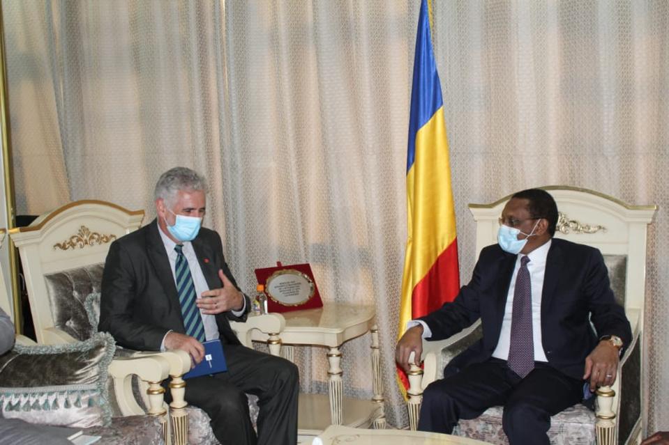 Tchad : l'ambassadeur canadien échange avec le chef de la diplomatie