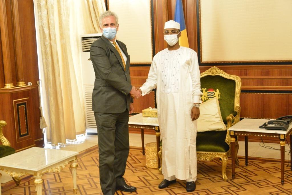 Tchad : le président du CMT a reçu l'ambassadeur du Canada