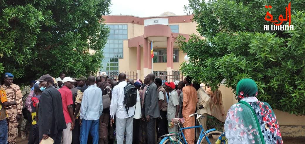 Tchad : les retraités en sit-in devant la CNRT pour le paiement des arriérés