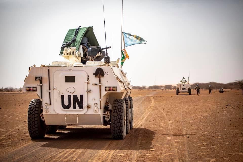 Mali : un blindé d'une unité tchadienne heurte une mine au Nord, 5 blessés. Illustration © MINUSMA