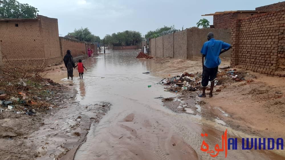 Tchad : d'importantes inondations à Ati après une forte pluie