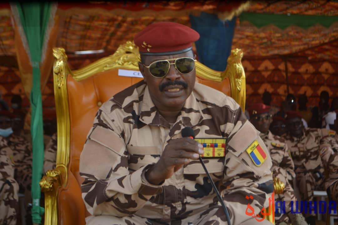 Le chef d'état-major général des armées, le général de corps d'armée Abakar Abdelkerim Daoud. © B.I./Alwihda Info