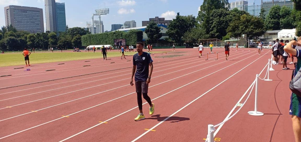JO Tokyo : le sprinter tchadien Mahamat Bachir éliminé aux 400 mètres. ©DR