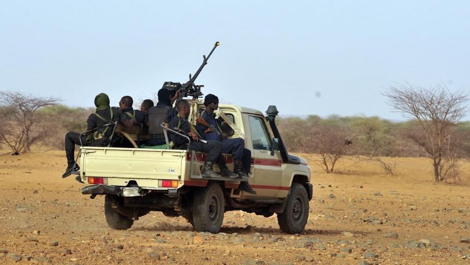 Des militaires nigérians. © DR