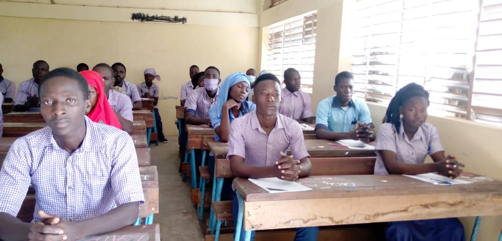 Tchad : 4178 candidats composent le baccalauréat dans la Tandjilé. © Éric Guedi/Alwihda Info
