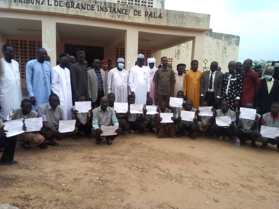 Tchad : remise de peines et libération des détenus à Pala