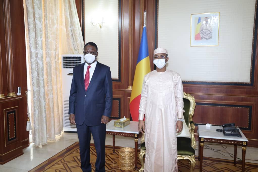 Tchad : le haut représentant de l'UA reçu en audience à la Présidence