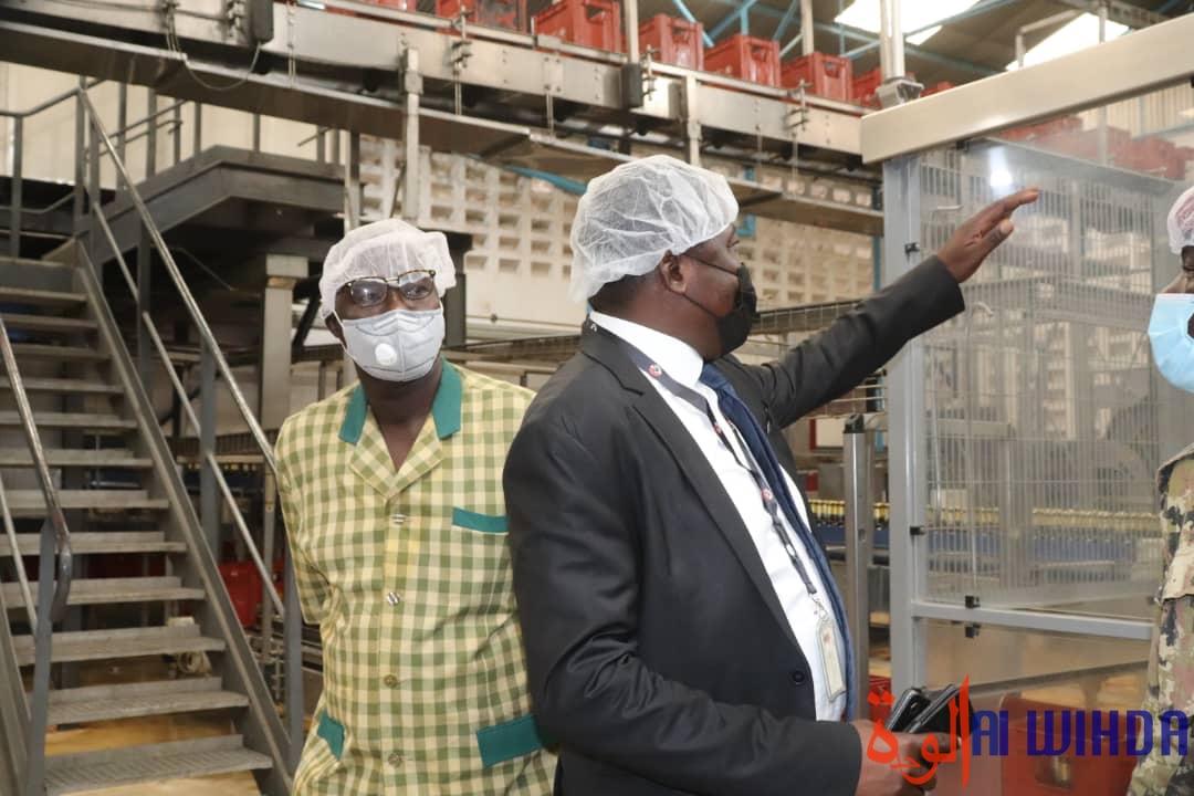 Les Brasseries du Tchad rouvrent leur usine de Moundou, un an après la fermeture. © Golmem Ali/Alwihda Info