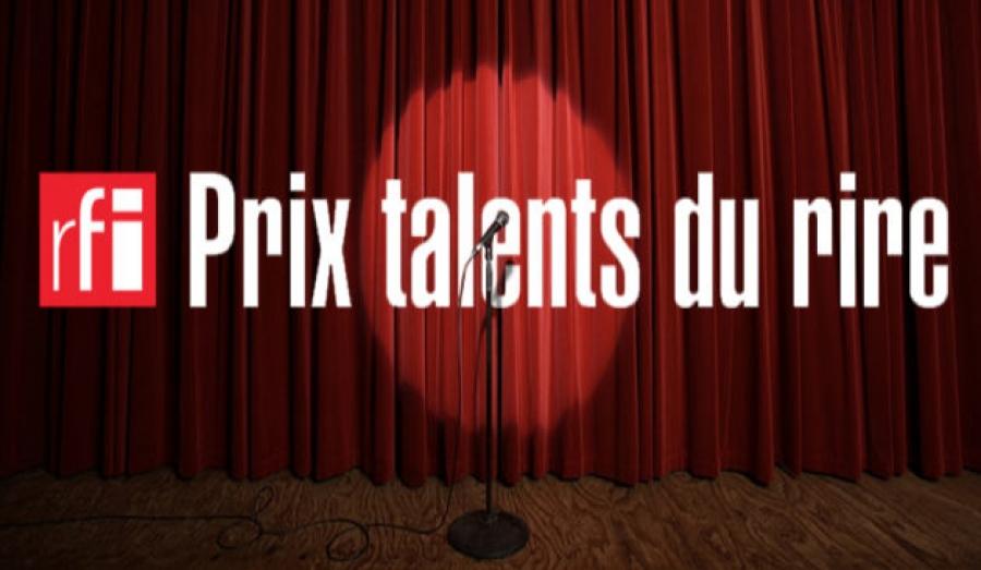 Prix RFI Talents du rire : Appel à candidatures 2021. © DR