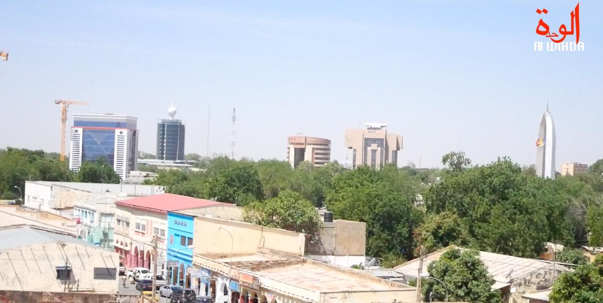 La ville de N'Djamena. Illustration ©B.K./Alwihda Info