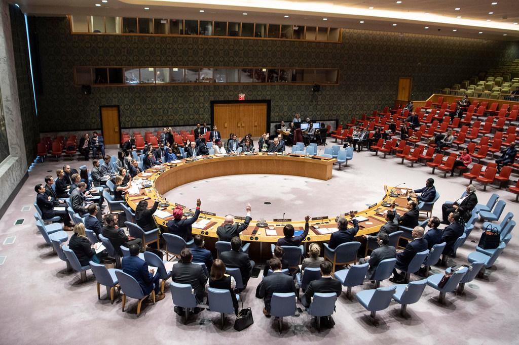 Le Conseil de sécurité de l'ONU lors d'une réunion (photo d'archives). © ONU/Eskinder Debebe