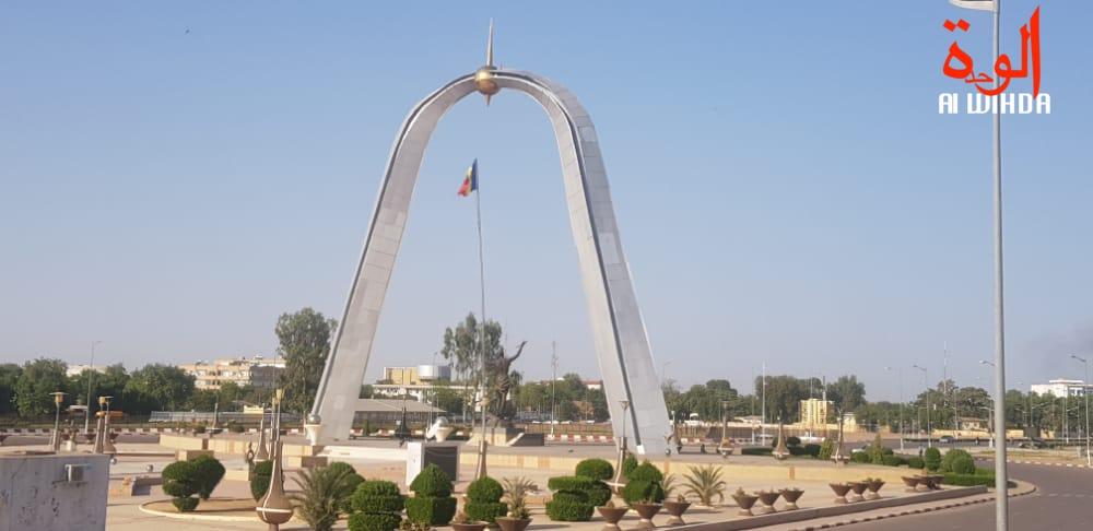La place de la nation au Tchad. © Alwihda Info