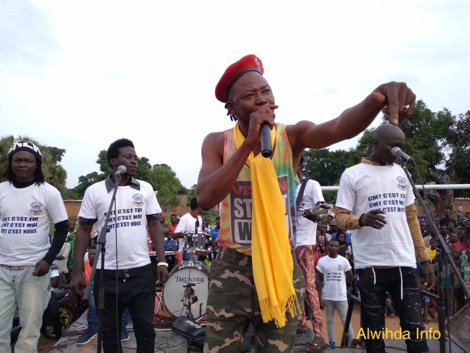 Tchad : concert géant d'artistes à Moundou en soutien au CMT
