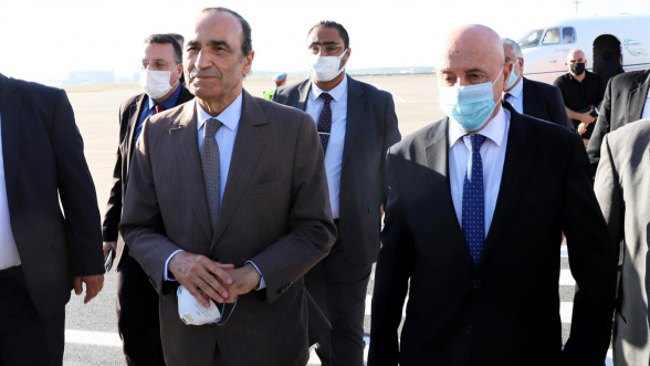 Le président de la Chambre des représentants libyenne en visite au Maroc. © Le360M