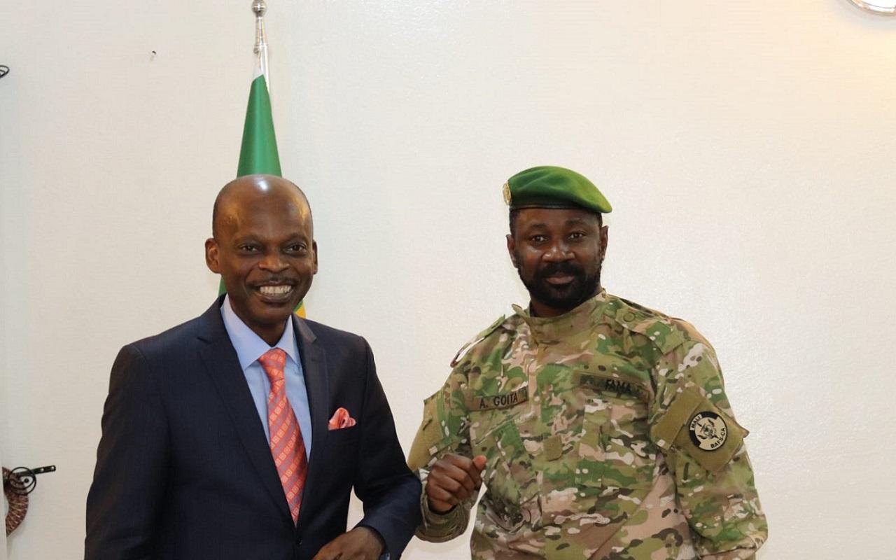 Mali : le président de la Transition salue les efforts du Togo pour la stabilité au Sahel