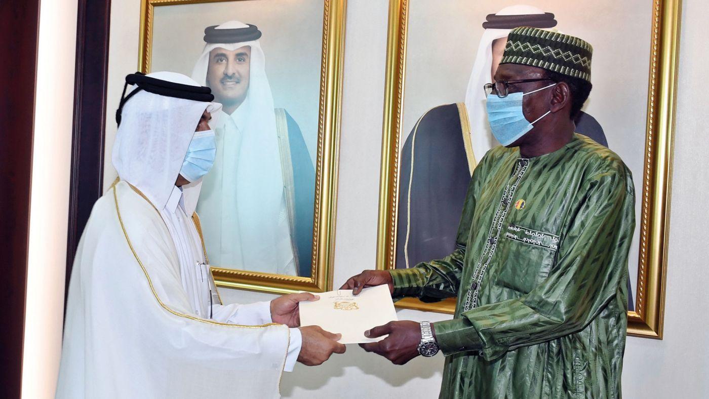 Qatar : le nouvel ambassadeur du Tchad présente ses lettres de créance
