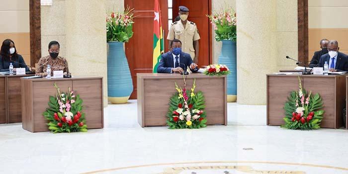 Togo : cinq avant-projets de loi et trois communications au menu du Conseil des ministres