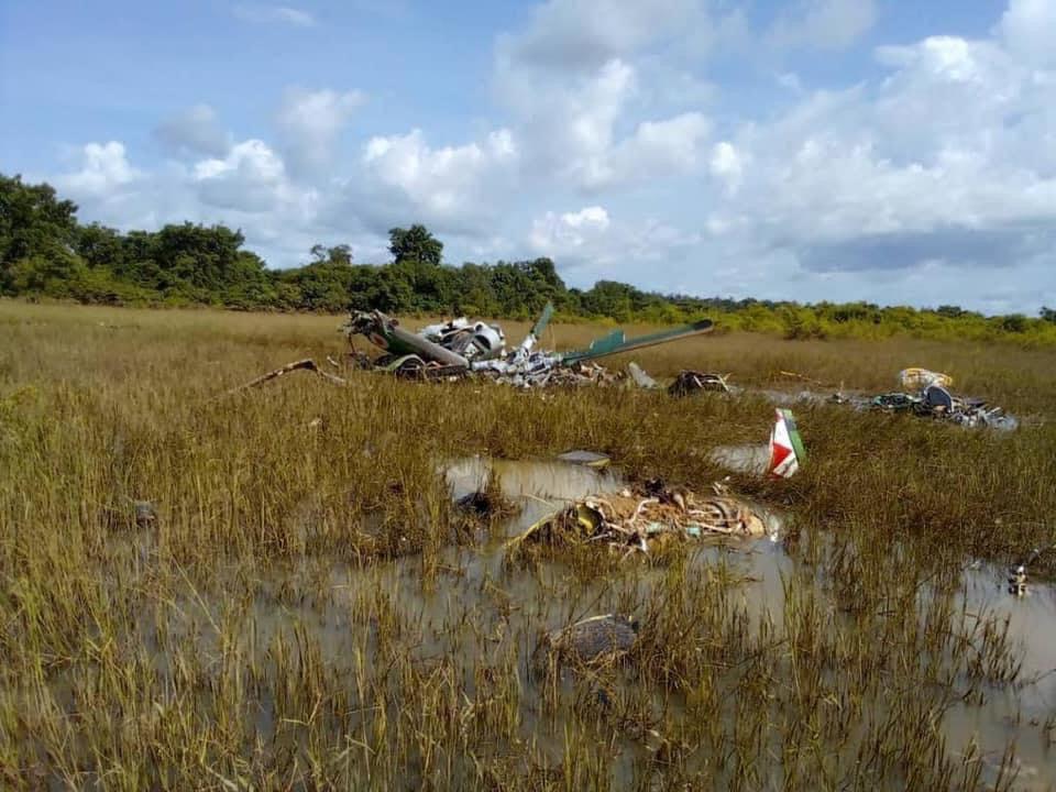 Côte d'Ivoire : 5 membres d'équipage d'un hélicoptère tués dans un crash. © DR