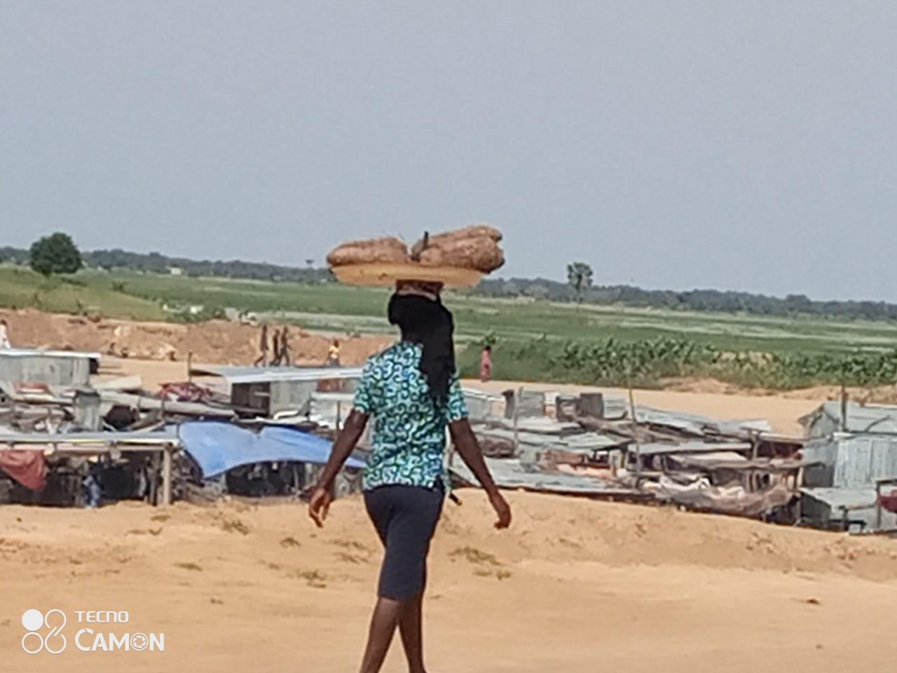 Tchad : l'igname inonde les rues et marchés de N'Djamena