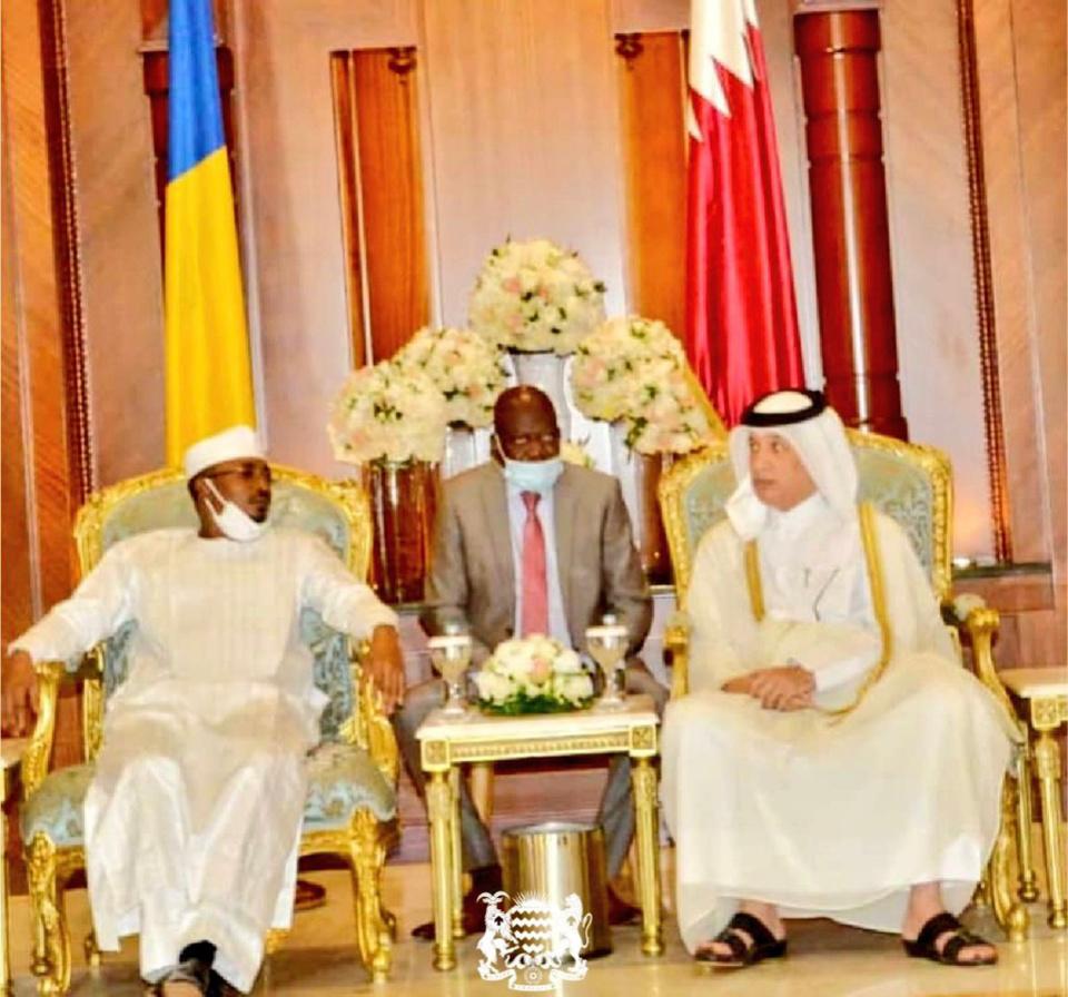 Tchad-Qatar : le président du CMT est arrivé à Doha