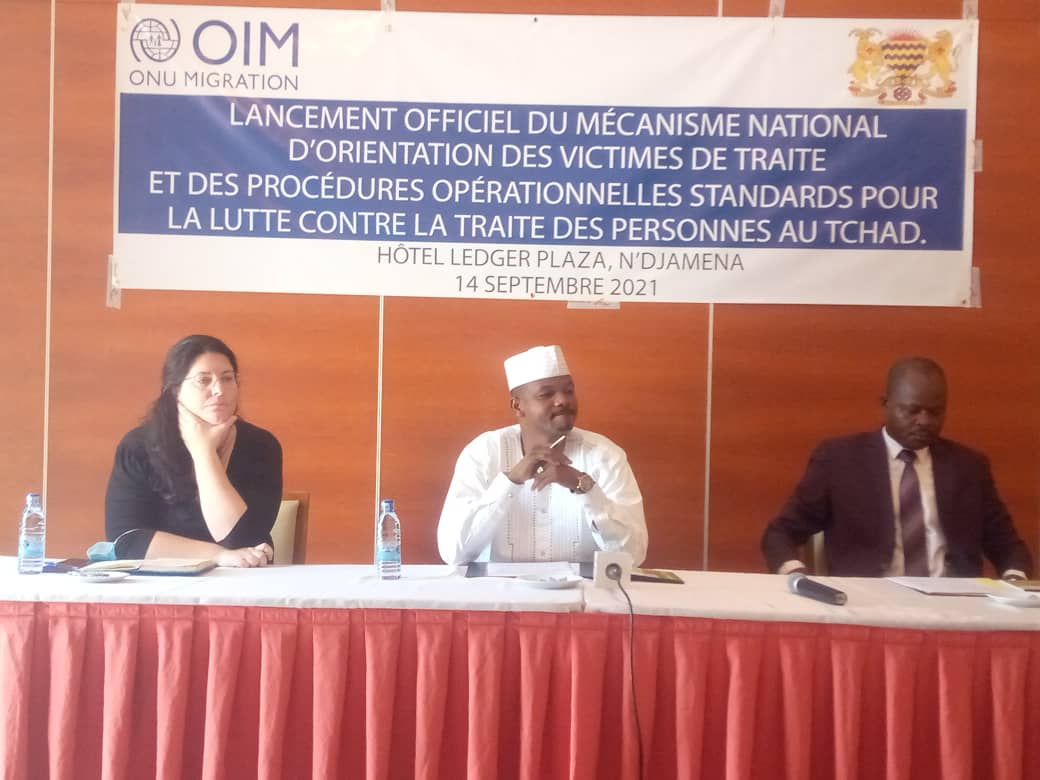 Tchad : l'OIM lance un mécanisme national d'orientation des victimes de traite