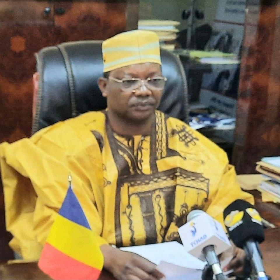 Le ministre de l'Éducation nationale et de la Promotion civique, Kosmadji Merci. ©Min.Edu